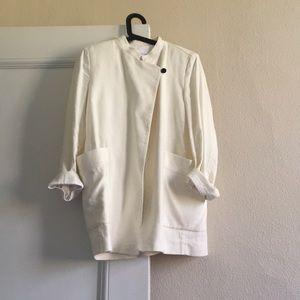 XS Mango premium Ivory linen jacket